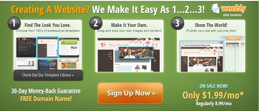 Does ipage offer website templates web hosting plan guide for Weebly site templates