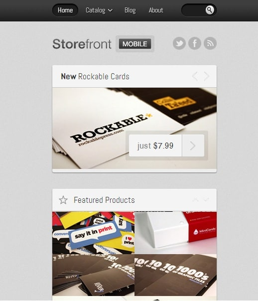 Storefront Mobile