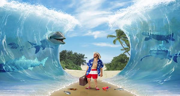 """Create a Surreal """"Parting of the Sea"""" Photo Manipulation"""