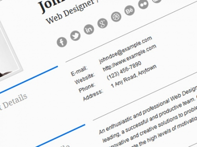 Use WordPress for Your Online Resume