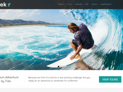 Trek – Responsive WordPress Tour/Travel Theme In-Depth Review