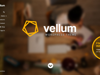Detailed Review Of The Vellum – Responsive WordPress Theme