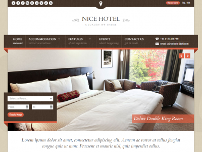A Detailed Review Of Nice Hotel – WordPress Theme