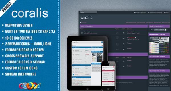 10 fresh and beautiful responsive phpbb themes you should know maxwellsz
