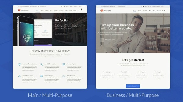 Website Template Offers on BlueHost