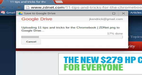 save pdf to google drive from chrome