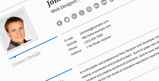 Use Wordpress For Your Online Resume - Web Hosting Plan Guide