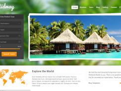 Midway – Responsive Travel WP Theme Detailed Review